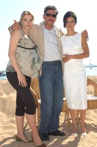 Claudia Gerini, Sergio Castellitto and Penelope Cruz at the photocall of