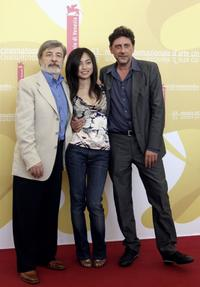 Gianni Amelio, Tai Ling and Sergio Castellitto at the photocall of