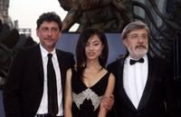 Sergio Castellitto, Tai Ling and Gianni Amelio at the premiere of