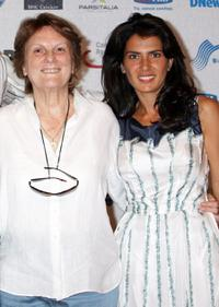 Liliana Cavani and Maya Sansa at the Roma Fiction Fest 2008.