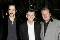 Nick Cave, John Hurt and Ray Winstone at the opening gala screening of