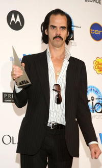 Nick Cave at the 2007 ARIA Awards.