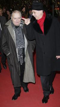 Claude Chabrol and Dieter Kosslick at the premiere