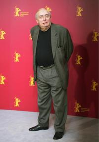 Claude Chabrol at the 56th Berlinale Film Festival for the photocall of