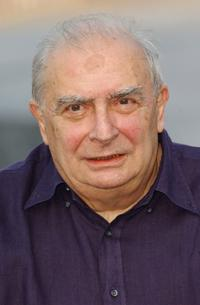 Claude Chabrol at the San Sebastian International Film Festival for the photocall of