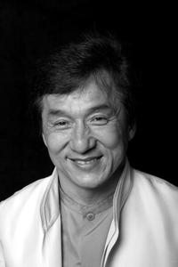Jackie Chan at a photo session in Italy for