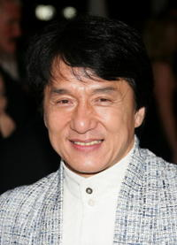 Jackie Chan at the Toronto premiere of