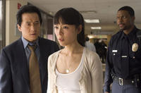 Jackie Chan, Jingchu Zhang and Chris Tucker in