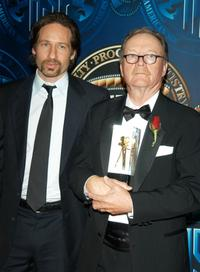 Michael Chapman and David Duchovny at the American Society of Cinematographers 18th Annual Outstanding Achievement Awards.