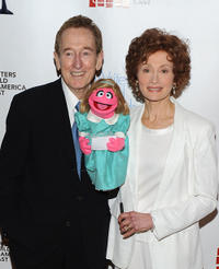 Bob McGrath and Fran Brill at the 62nd Annual Writers Guild Awards in New York.