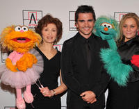 Fran Brill, Musician Juanes and Carmen Osbahr at the 2010 AFTRA AMEE Awards in New York.