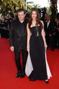 Patrice Chereau and Aishwarya Rai at the world premiere of
