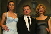 Monica Bellucci, Patrice Chereau and Meg Ryan at the International Cannes Film Festival.