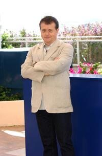 Patrice Chereau at the photocall for members of the Cannes 2003 Film Festival jury at the Palais des Festivals during the 56th International Cannes Film Festival.