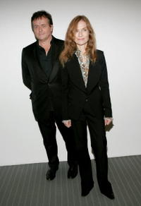 Patrice Chereau and Isabelle Huppert at the screening of
