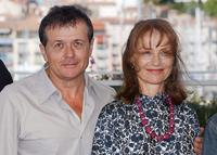 Patrice Chereau and Isabelle Huppert at the photocall of