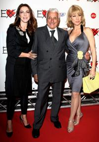 Claudia Gerini, Fulvio Lucisano and Nancy Brilli at the premiere of