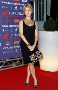 Nancy Brilli at the Capri Hollywood Film Festival.