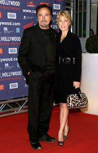 Franco Nero and Nancy Brilli at the Capri Hollywood Film Festival.