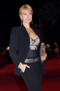 Nancy Brilli at the premiere of