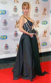 Nancy Brilli at the Italian TV Awards
