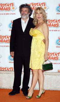 Roy De Vita and Nancy Brilli at the premiere of