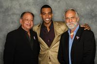 Cheech Marin, Mario and Tommy Chong at the 2008 ALMA Awards.