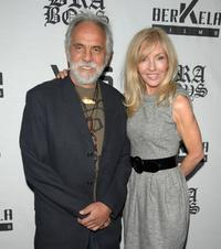 Tommy Chong and Shelby Chong at the premiere of