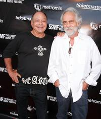 Cheech Marin and Tommy Chong at the Sunset Strip Music Festival's opening night ceremony.