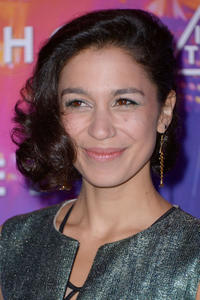 Danusia Samal at the Paris premiere of
