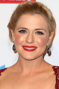 Harriet Dyer at the 57th annual Logie Awards in Melbourne, Australia.