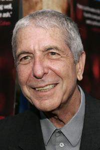 Leonard Cohen at the Los Angeles premiere of