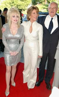 Dabney Coleman, Dolly Parton and Jane Fonda at the retro premiere of