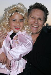 Casey Longstreet and Jeff Conaway at the Grease Rockin' Rydell Edition DVD Launch Event.