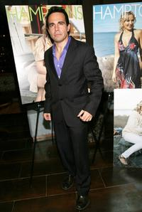 Mario Cantone at the Hamptons Magazine 30th Celebration Anniversary.