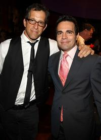 Kenneth Cole and Mario Cantone at the 9th Annual amfAR Honoring With Pride Celebration.