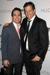 Mario Cantone and Kenneth Cole at the 9th Annual amfAR Honoring With Pride Celebration.