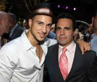 Ari Gold and Mario Cantone at the 9th Annual amfAR Honoring With Pride Celebration.