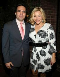 Mario Cantone and Taylor Dane at the 9th Annual amfAR Honoring With Pride Celebration.