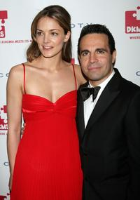 Katharina Harf and Mario Cantone at the DKMS 2nd Annual Linked Against Leukemia Gala.