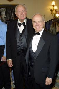 Tim Conway and Harvey Korman at the 15th Annual Academy Of Television Arts & Sciences Hall Of Fame Ceremony.