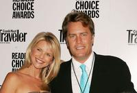 Christie Brinkley and Peter Cook at the Conde Nast Traveler Readers Choice Awards.