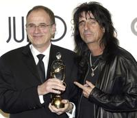 Producer Bob Ezrin and Alice Cooper at the JUNO Gala Dinner and Awards ceremony.