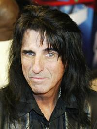 Alice Cooper at the JUNO Awards ceremony.