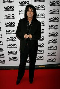 Alice Cooper at the MOJO Honours List Awards.