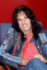 Alice Cooper at the