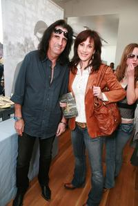 Alice Cooper and Sheryl at the John Varvatos 6th Annual Stuart House Benefit.