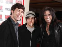 Tom Anderson, Pete Wentz and Alice Cooper at the 1st Annual U.S. NME Awards.