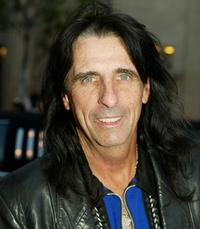 Alice Cooper at the premiere of