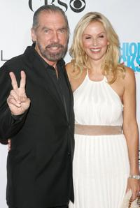 John Paul DeJoria and Eloise Broady at the Conde Nast Media Group's Third Annual Fashion Rocks Concert.